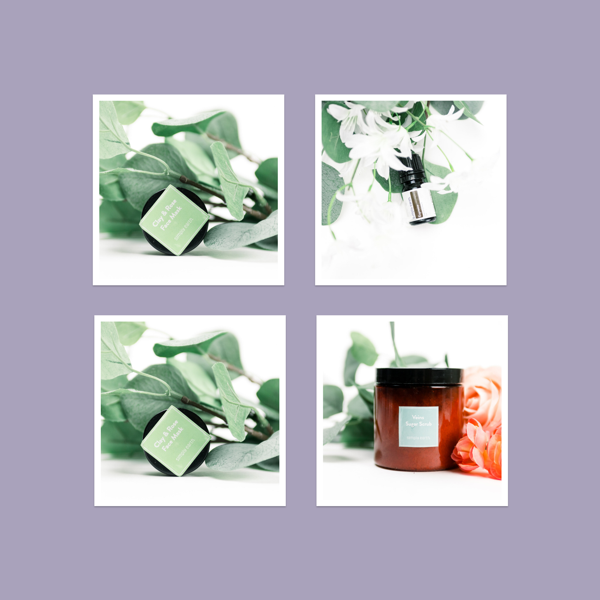 February 2020 Simply Earth Essential Oil Recipe Box